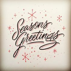 Seasons greetings by @matthewtapia #typeverything by typeverything