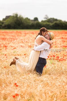 The Ultimate Vintage Engagement Session - Footsteps Photography, Couple Photographer near RAF