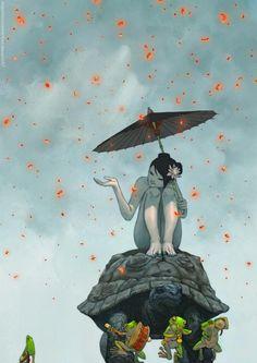 Digital #Illustrations by Yasmine Putri