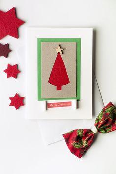 Christmas card, handmade by mesuelf