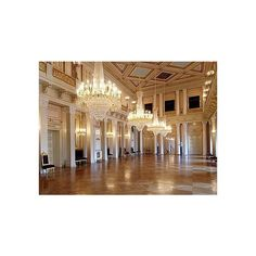 The Ballroom at The Royal Palace. Photo The Royal Court Views of... ❤ liked on Polyvore featuring ballroom, backgrounds, dance, palace and pic