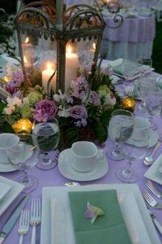 Lavender reception