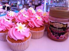 Cupcakes met marcipano porky paste!