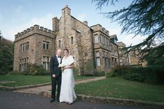 Bride and Groom Whirlowbrook Hall November Wedding