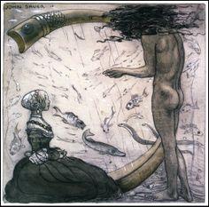 John Bauer, Agneta and the Sea King