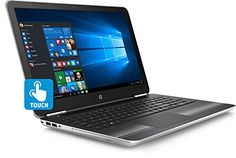 Introducing HP Pavilion 15au063cl 156 Touchscreen Notebook PC  Intel Core i7au063cl 25GHz 16GB RAM 1TB HD DVDRW Windows 10 Home Certified Refurbished. Great product and follow us for more updates!