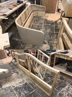 Reupholster Furniture, Furniture Upholstery, Bed Furniture, Home Decor Furniture, Custom Furniture, Bedroom Door Design, Living Room Sofa Design, Wooden Pallet Furniture, Wood Sofa