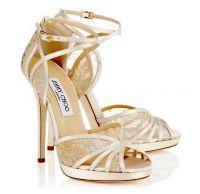Jimmy Choo, scarpe da sposa collezione 2015 estate