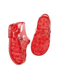 Beach Shoes Toddler Girl Size US 8 Clear Flower Jelly Sandals Water GAP Baby