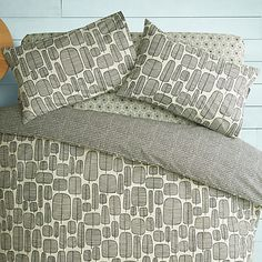 Buy MissPrint Little Trees Duvet Cover and Pillowcase Set Online at johnlewis.com