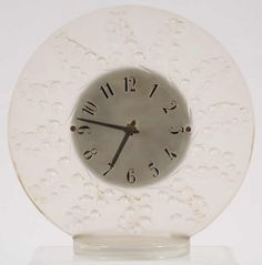 Lalique Muguet Clock