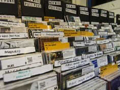 Rough Trade, London. One of London's most celebrated, most awarded and most loved retail destinations. The curated stock of music there is amazing.