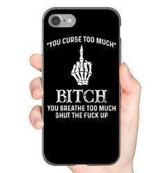 You Curse Too Much Funny Shirts Funny Mugs Funny T Shirts For Woman and Men - Funny Shirts Humor - Ideas of Funny Shirts Humor - You Curse Too Much Funny Shirts Funny Mugs Funny T Shirts For Woman and Men Bling Phone Cases, Funny Phone Cases, Cool Iphone Cases, Iphone Phone Cases, Phone Covers, Funny Shirt Sayings, Funny Shirts, Quote Shirts, Funny Hoodies