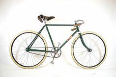 Vintage BSA track bike. │BSA by bishopscycles, via Flickr