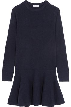 Midnight-blue merino wool-blend Slips on 60% merino wool, 20% yak, 20% polyamide Hand wash Designer color: Total Eclipse Imported