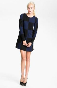 Marc By Marc Jacobs Checkered Jacquard Knit Dress: This 60s mod style dress would turn even Andy Warhol's head. Note the zippers on the shoulders, it's these small details that make all the difference!