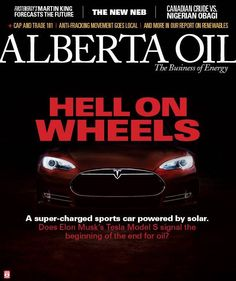 Tesla Model S One Of Motor Trend's Top 10 American Cars Of All Time, + Makes Cover Of Oil Industry Magazine