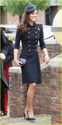 Prince William and Kate Middleton at the Victoria Barracks June 25, 2011