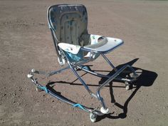 baby walker vintage antique retro seat high chair bouncer stroller Vintage High Chairs, Baby Items, Vintage Antiques, Mid Century, Retro, Ebay, Retro Illustration