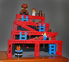 So cool #DonkeyKong Lego