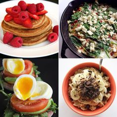 Healthy, under 400 calories, and easy to make! Here are 16 breakfast recipes we are making all the time.