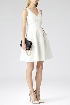 23 Dresses Perfect For Your City Hall Wedding #refinery29  http://www.refinery29.com/city-hall-wedding-dresses#slide2