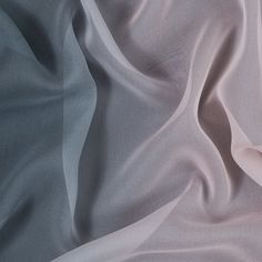 Monument and Creole Pink Ombre Silk Chiffon