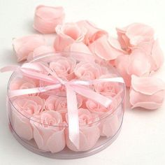 Gorgeous Soaps for Bathroom shaped like beautiful roses!