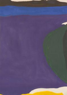Helen Frankenthaler.-Santorini 1966