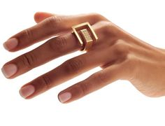 ORRO Contemporary Jewellery Glasgow - Angela Hubel - Gold & Diamond Palace Garden Ring - 18ct grey gold - brilliant cut diamonds
