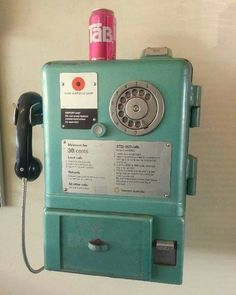 Remembering the finger dial public phones. And don't forget to check the coin slot in case someone left their change ...