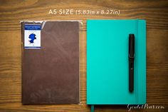 This is an impossible choice: the Goulet Notebook with Tomoé River Paper A5 or a Leuchtturm1917 Notebook? Love both of them!!