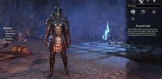 ESO Imperial Dragonknight Veteran Armor