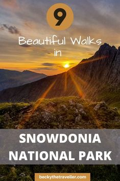 Snowdonia National Park Walks | North Wales. 9 beautiful day walks in Snowdonia in Wales. Includes Snowdon, Moel Siabod, Aber Falls and more wonderful walks in Snowdonia | Hikes in Snowdonia | Hikes in Wales | UK adventures | #snowdonia #wales
