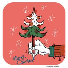Christmas illustration | by naoyuki.hayashi