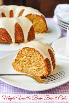 Old fashioned baking at its very best in a moist delicious bundt cake like you'd serve for Sunday dinner years ago. Homemade Cake Recipes, Pound Cake Recipes, Homemade Food, Lemon Recipes, Rock Recipes, Desert Recipes, Party Recipes, Dinner Recipes, Bunt Cakes