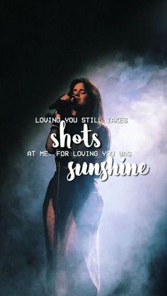loving you was sunshine . Music Lyrics, Music Songs, Camila Album, Fifth Harmony Lyrics, Song Captions, Divas, Julia Michaels, See You Around, Movie Shots