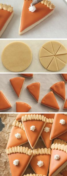 Thanksgiving Cookies, Fall Cookies, Christmas Sugar Cookies, Holiday Cookies, Holiday Desserts, Holiday Baking, Christmas Baking, Holiday Recipes, Thanksgiving Baking Ideas