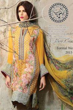 Motifz Chiffon Suit, Ladies Replica Shop, Online Embroidered Dresses.