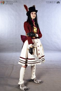 10 Alice In Wonderland Cosplays - that is creepy as all get out Cosplay Outfits, Cosplay Girls, Cosplay Costumes, Cosplay Ideas, Costume Ideas, White Rabbit Alice In Wonderland, Alice In Wonderland Party, White Rabbit Costumes, Lolita Cosplay