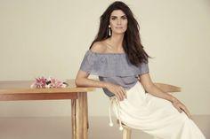 Isabella Fiorentino coleção roupas OQVestir