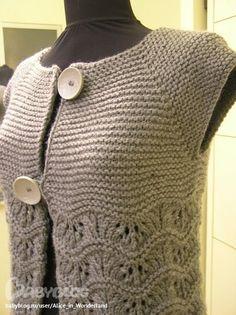 Knitting - Looking for a pattern scheme Help - Stricken - Knitting Blogs, Easy Knitting, Baby Knitting Patterns, Knit Vest Pattern, Knitting Accessories, Pulls, Crochet Lace, Knit Jacket, Crochet Coat