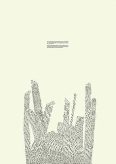 concrete poetry http://theworldisconcrete.tumblr.com/post/2998743610/sam-winston-creates-sculpture-drawings-and-books