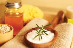 Aromatherapy gift ideas plus recipes! Make Ginger Body Scrub or scented room sprays, body oils and bath salts.