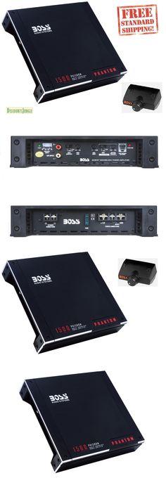 Car Amplifiers: Boss Audio Ph1500m Mono Block Amplifier 1500W Max Mosfet Phantom Series New -> BUY IT NOW ONLY: $59.95 on eBay!