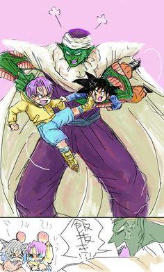 Piccolo, Trunks, & Goten