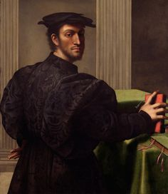 """ganymedesrocks: """" lionofchaeronea: """"Portrait of a Gentleman in a Black Cap, Sebastiano del Piombo (ca. 1485-1547) """" I do know to have, even more now than was I was very young, a nostalgia for Renaissance fashion.  Sebastiano Luciani (c. 1485 – 1547),..."""