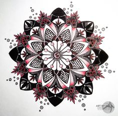 Mandala, dotwork. Tattoo sketch. by AsikaArt.deviantart.com on @deviantART
