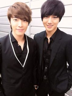 Super Junior's Yesung and Donghae