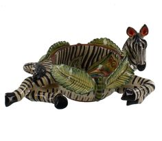 Hartmann's Mountain Zebra Ramekin | The Ardmore Collection | Fine Ceramic Art